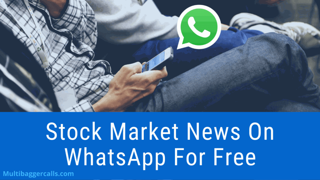 How To Get Stock Market News On WhatsApp?